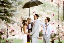 Weddings in the Rain / Embrace the rain on your big day ..
