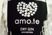 amo.te Dry Gin 2015 / Leave Your Message in the Bottle • Store On Line www.amote.pt • The Unique Blend Of Love!