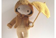 Isabelle Kessedjan Crochet dolls