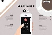 "Web layout ideas ""az én boltom"" / find the style for website"