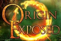 Origin Exposed (Book 2) / A Dangerous Secret In fiery redhead Stella Stonewall's new world magic and shape-shifters are everyday life. Scales, sorcery, shifters—no big. She struggles to keep her rare form a secret, even from her closest friends.  A Bitter Betrayal Stella turns to her mentor Rowan Gresham for help. The charming but enigmatic Gresham forms a plan to improve her troublesome public image. The problem? The plan revolves around betraying the only family she has left.   #magic #shifters #dragon #suspense #love