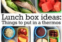 School Lunch Ideas / Lunch ideas for the kiddos