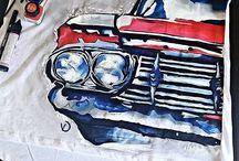 Textiel paint