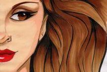 Anabelartworks / Dibujos, retratos, bocetos, ilustraciones...