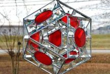 3-D stained glass