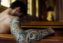 Tatouages / Tattoos ✌tatouages. ✌Ink ✌tattoed men  #tattoo #tattoed #ink# tatouage #art
