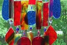 Stained Glass Windchimes