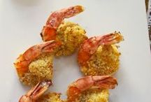 Shrimp & Prawn / Americans say Shrimp & English saw Prawns. Delicious and healthy shrimp recipes.