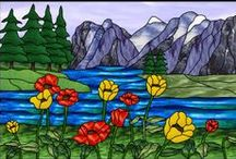 Stain Glass Landscapes