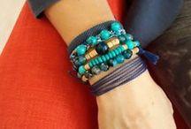 Mishane Bracelets / Heartmade accessories with gemstone