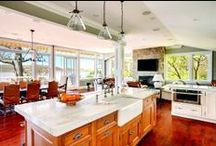 Kitchen Design Ideas / Get inspired by our kitchen design ideas. Check out our blog: http://info.graniteselection.com/