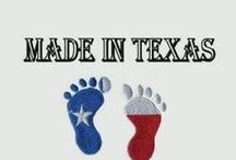 All Things Texas / My maternal grandparents and both parents are from Texas. I was born in Texas  but did not grow up there. I moved to Texas with my children who spent most of their teenage and young adult years there. In all I was able to live in Texas for 15 years. Although I am back in California I remain Texas Proud. / by Selena Mosley