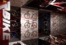 Architech.it via migg / Giannis Oikonomou Concept Design for a Bike Store via Migg