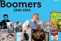 """Baby Boomer / """"A baby boomer is a person who was born during the demographic post-World War II baby boom between the years 1946 and 1964, according to the U.S. Census Bureau."""" (Wikipedia) I am a baby boomer and created this board to Share some of  my memories and news events of the boom years and a little afterward. / by Selena Mosley"""