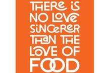 Inspirational Quotes / Eating + drinking quotes to live by. / by DiningIn.com (DiningIn)