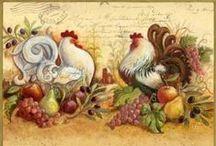 mutfak dekopajları / by Elif Derya Beyaz