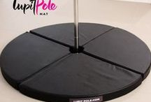 Pole Mat / The Mat gives to the dancer higher safety when exercising on the pole.