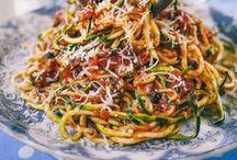 In-Spiralize Me / Recipes featuring spiralized Veggies
