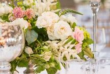 Floral Decor / Featured gorgeous floral decor from the many weddings and events hosted at Tribeca Rooftop and Three Sixty°.