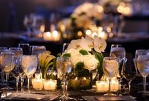 Wedding Decor / Featured wedding decor from the many gorgeous weddings we have hosted at Tribeca Rooftop and Three Sixty°