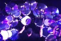 Neil Peart of Rush / Neil Peart of Rush has used a Dauz pad above his snare for many years