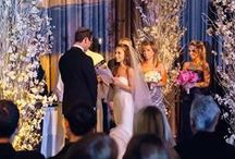 Wedding Ceremonies / We host some of the most sophisticated and gorgeous ceremonies here in NYC. Take a glimpse for yourself!
