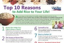 Rice Facts to Chew On! / Information about rice