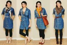 Chambray Dress Ideas / Style ideas for chambray dresses.