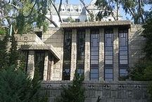 FLLW - Storer House / Storer House, West Hollywood, California. 1923. Concrete block/ Textile Block period.
