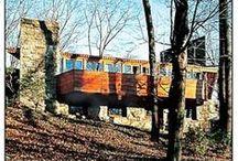 FLLW - Reisley House / Roland and Ronny Reisley House, Pleasantville, N.Y. 1951-1956. Usonain