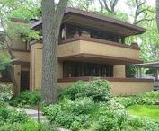 FLLW - Gale House, Mrs. Thomas H. / The Laura Gale House, also known as the Mrs. Thomas H. Gale House, is a home in the Chicago suburb of Oak Park, Illinois, United States. The house was designed by master architect Frank Lloyd Wright and built in 1909. It is located within the boundaries of the Frank Lloyd Wright-Prairie School of Architecture Historic District and has been listed on the U.S. National Register of Historic Places since March 5, 1970.