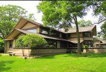 FLLW - Bradley House / Bradley House. Kankakee, Illinois. 1900