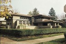 FLLW - Meyer May House / Meyer May House, 1909. Grand Rapids, Michigan. Prairie Style.