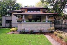 FLLW - Little House (1) / Francis W Little House 1. Prairie Style. 1902. Peoria, Illinois.