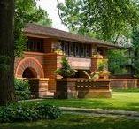 FLLW - Heurtley House / Arthur Heurtley House. 1902. Oak Park, Illinois. Prairie Style.
