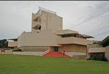 FLLW - Anne Pfeiffer Chapel / Anne Pfeiffer Chapel. Florida Southern College. Lakeland, Florida. 1938-40.