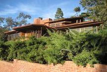 FLLW - Hanna House / Hanna House, 'Honeycomb House'. 1937. Stanford, California. Usonian Style