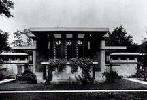 FLLW - Coonley House / Avery Coonley House. Prairie Style. 1907-1908. Riverside, Illinois.