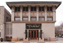 FLLW - Park Inn Hotel / Park Inn Hotel, Mason City, Iowa. 1910.