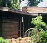 FLLW - Bazett house / Bazett house. Usonian Style. Hillsborough (Near San Francisco) California.1940.