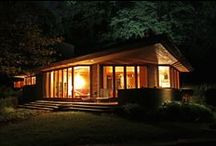 FLLW - Palmer House / William and Mary Palmer House. Ann Arbor, Michigan. Usonian.