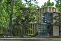 "FLLW - Lloyd Jones House, Richard / Richard Lloyd Jones Residence. ""Westhope"" Tulsa, Ok. 1929."