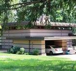 FLLW - McBean House / James McBean House. Rochester, Minnesota.1957.  Usonian Style.