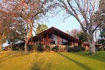 FLLW - Ablin House / Dr. George Ablin House, Bakersfield, CA, 1961