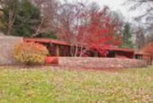 FLLW - Laurent House / Kenneth Laurent House. Rockford, Illinois. 1949-52. Usonian style
