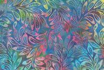 Moda Fabrics: De la Sol Batiks