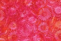 Moda Fabrics: Tiger Lily Batiks
