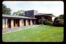FLLW - Max Hoffman House / Max Hoffman House. 1955. Rye, New York.