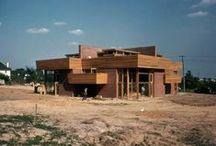 FLLW - Suntop Homes / Suntop Homes: Otto Mallery & Tod Company duplex. 1938. Armore, Pennsylvania.