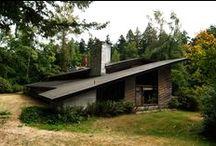 FLLW - Griggs House / Griggs Residence Tacoma, Washington. Usonian. 1945